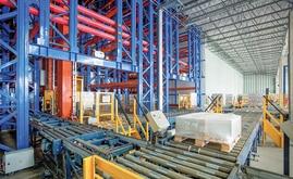 A Mecalux projetou e construiu um armazém automático autoportante da BASF