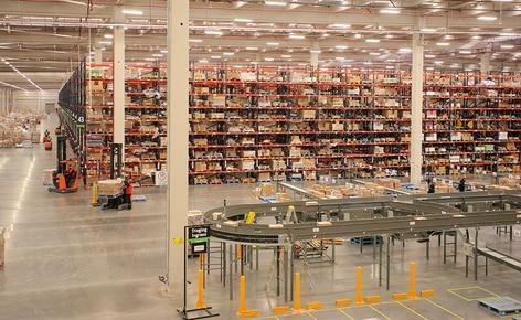 O centro logístico de 70.000 m² no Chile dos supermercados SMU reforça a ótima distribuição de produtos