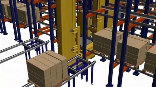 Pallet Shuttle, Sistema de armazenagem semiautomático de alta densidade
