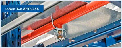 Sistemas de proteção contra incêndios para estantes metálicas e armazéns