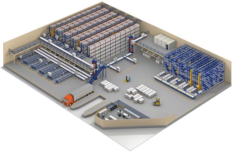 O WMS permite gerenciar armazéns multiproprietário