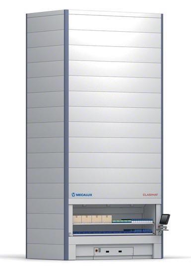 Sistema de armazenagem vertical automático