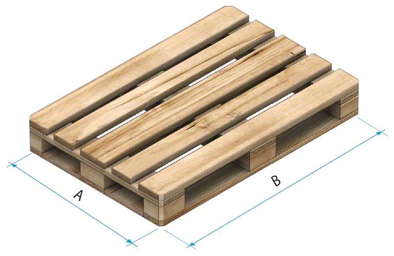 Pallet de madeira tipo 2