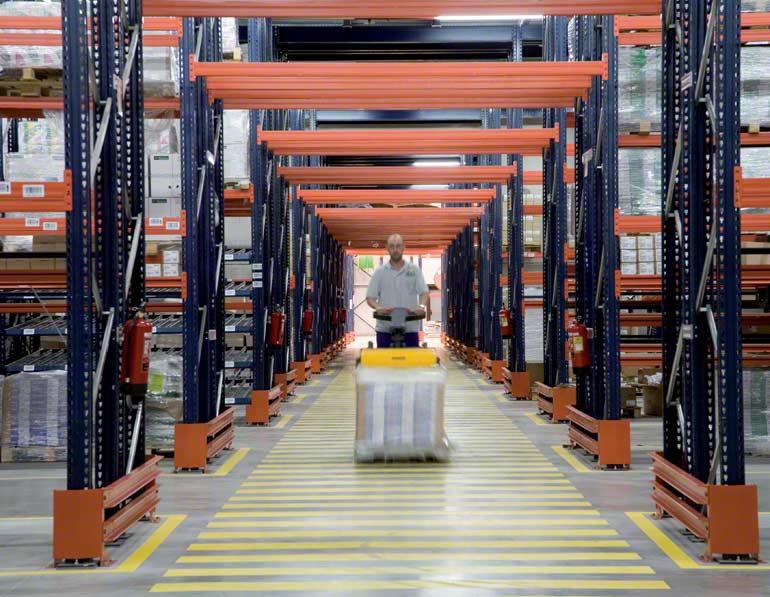 Armazém instalado para empresa do setor de distribuição