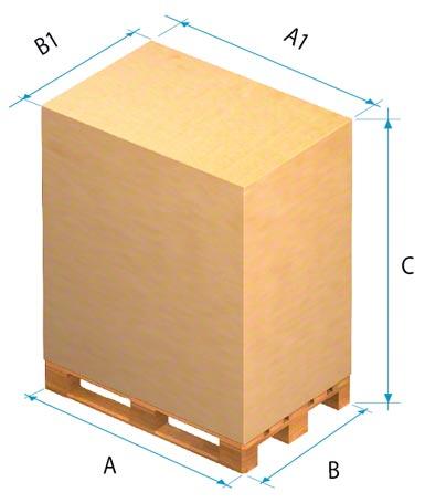 Para determinar as funções do armazém devem ser consideradas as dimensões da mercadoria