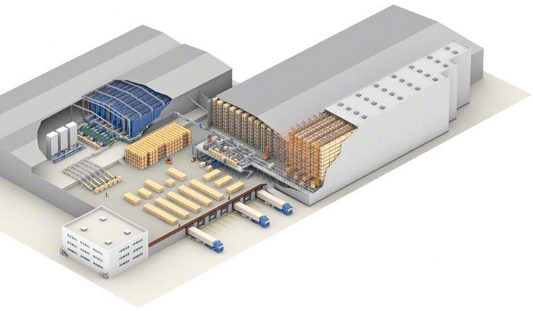 Projeto de um armazém central