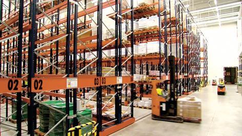 Havi Logistics confiou a Mecalux a implementação do seu projeto de armazenagem