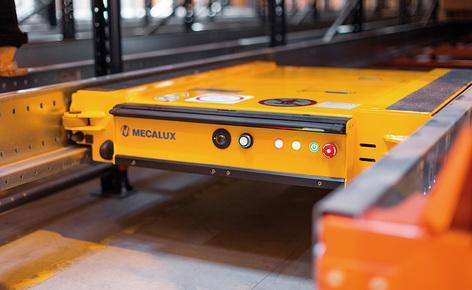 A Gémo contratou a Mecalux para o fornecimento e instalação de estantes com carros Pallet Shuttle