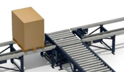 Sistemas de transporte para paletes