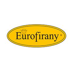 Estantes para picking com passarela e estantes cantilever fornecem uma ótima organização dos produtos têxteis do fabricante polaco Eurofirany