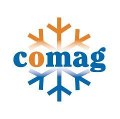 O armazém de congelados da Comag com uma operação eficiente