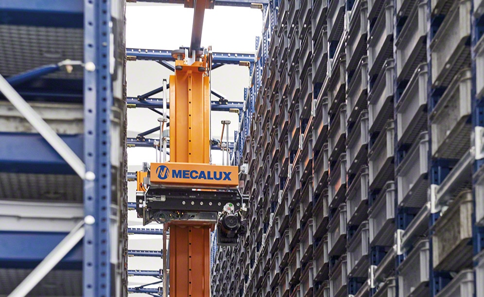 Paolo Astori amplia a capacidade de seu armazém automático de caixas em Milão