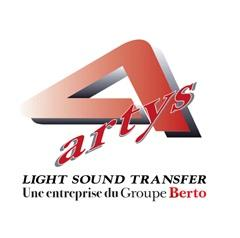 Armazém da Artys na França para gerenciar equipamentos de áudio