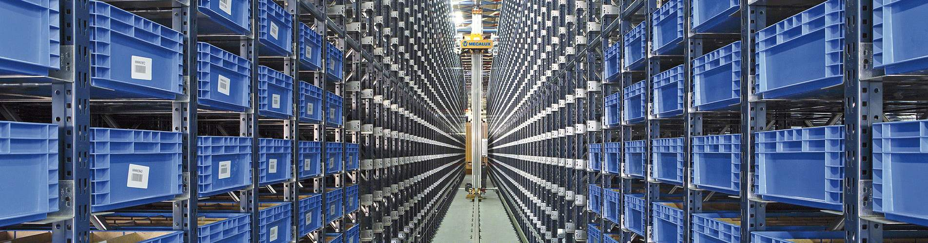 Transelevadores para caixas