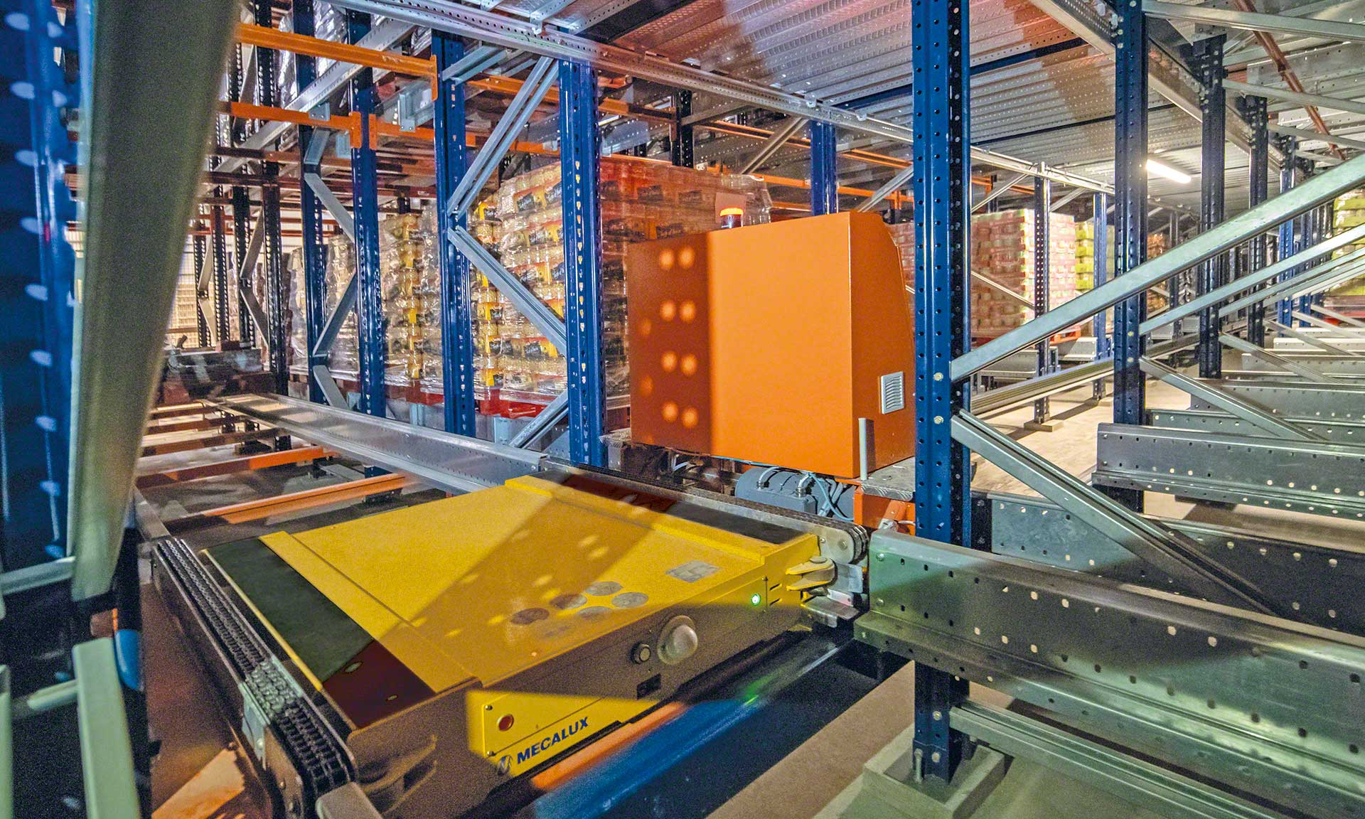 Ampliação do armazém automático da Cistér em Portugal