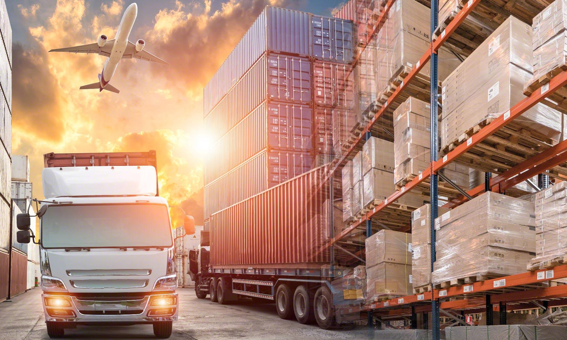 O novo armazém do operador logístico Tailormade Logistics em Gante