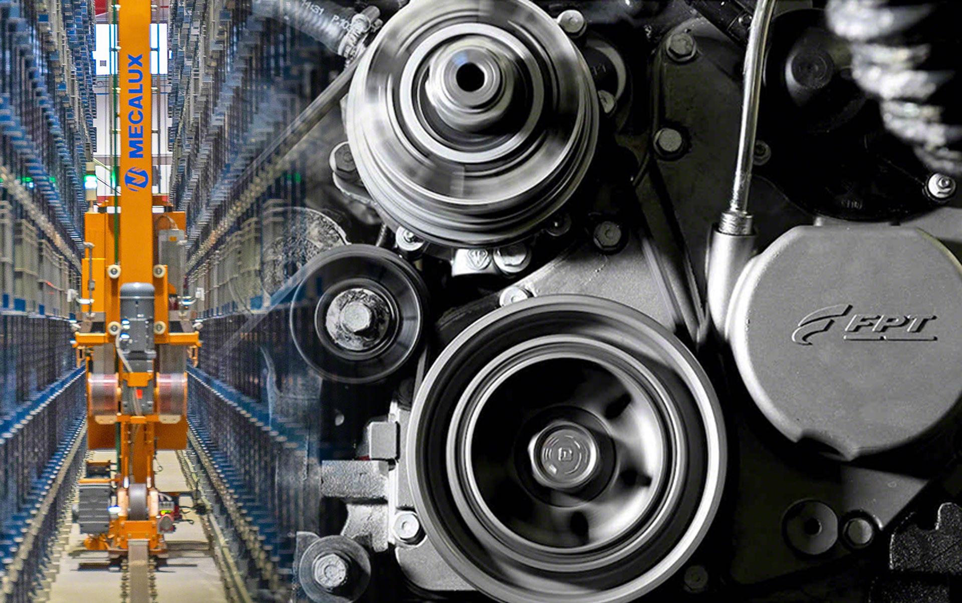 Ampliação do armazém automático FPT Industrial em Bourbon-Lancy