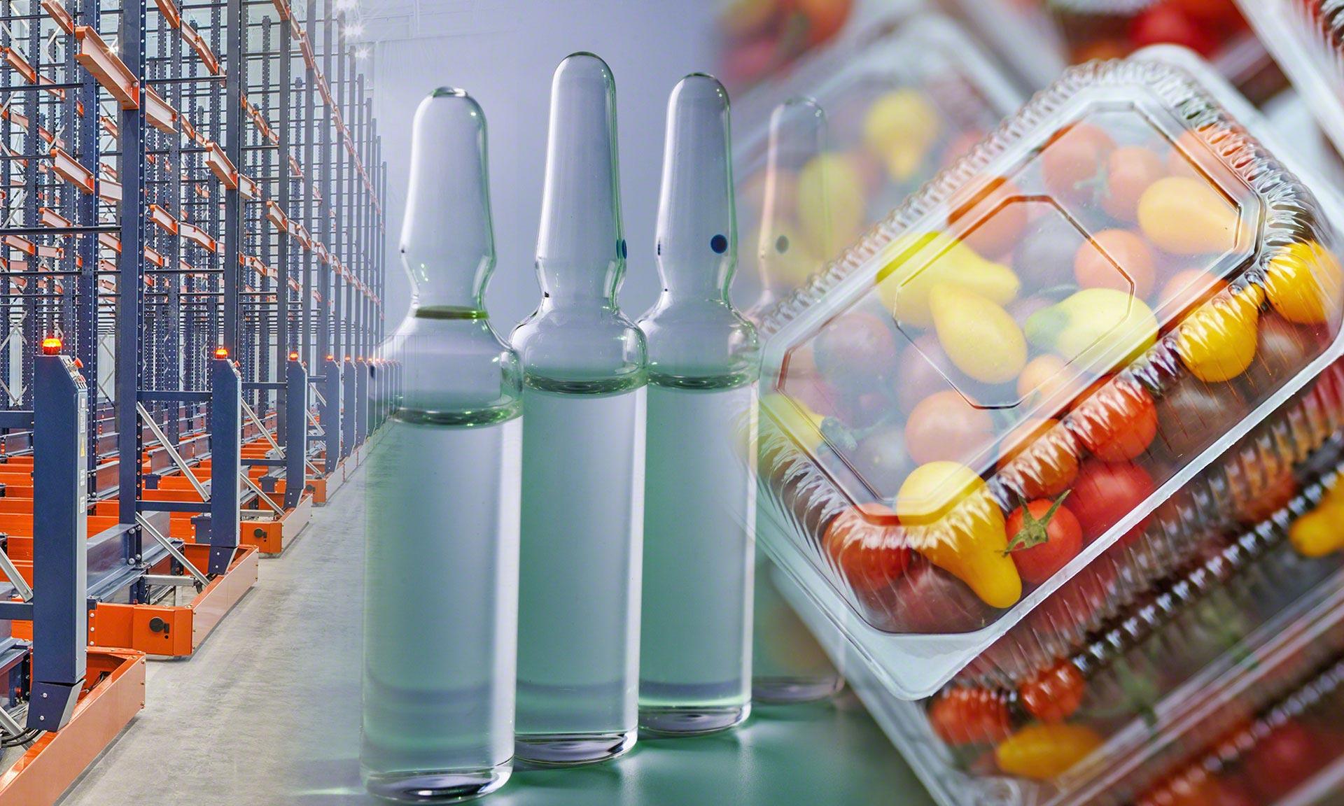 Armazém com sistemas de embalagem MULTIVAC nos Estados Unidos